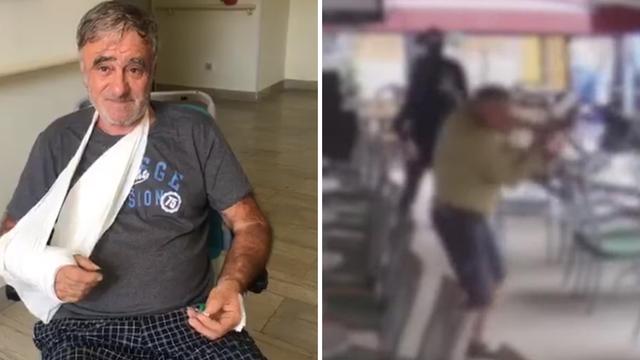 Umirovljenika kod Pule tukao i vojnik: Mlatili su me stolicama