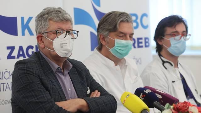 Konferencija za medije u KBC Zagreb povodom uspješnog početka uvođenja metode imunoadsorpcije