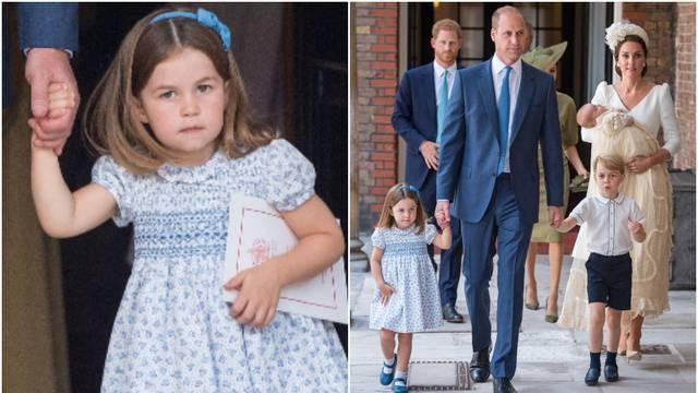Princeza Charlotte fotografima odbrusila: 'Ne možete s nama'