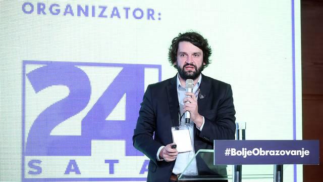 Zagreb: Bolje obrazovanje, bolja Hrvatska, predavanje Borisa Jokica