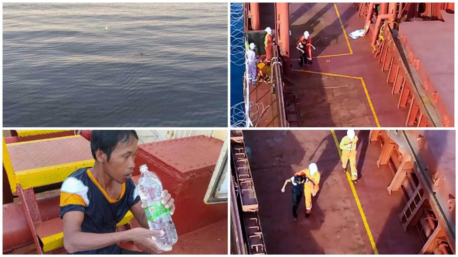 Posada broda Privlaka spasila Filipinca: Izvukli su ga iz mora