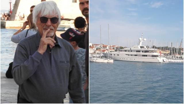 Turneja Jadranom: Skupocjena jahta Bernieja Ecclestonea sad je u Trogiru, a njemu ni traga...