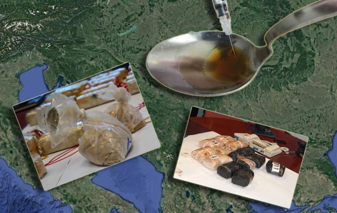 'Ta je trasa sigurnija': Heroin u Europu putuje i preko Hrvatske