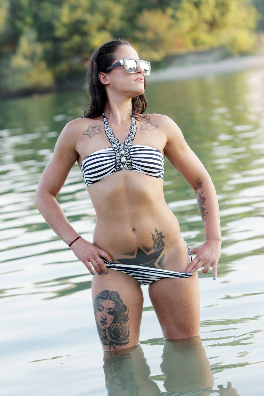 Marina Škender osvojila vas je svojim brojnim tetovažama