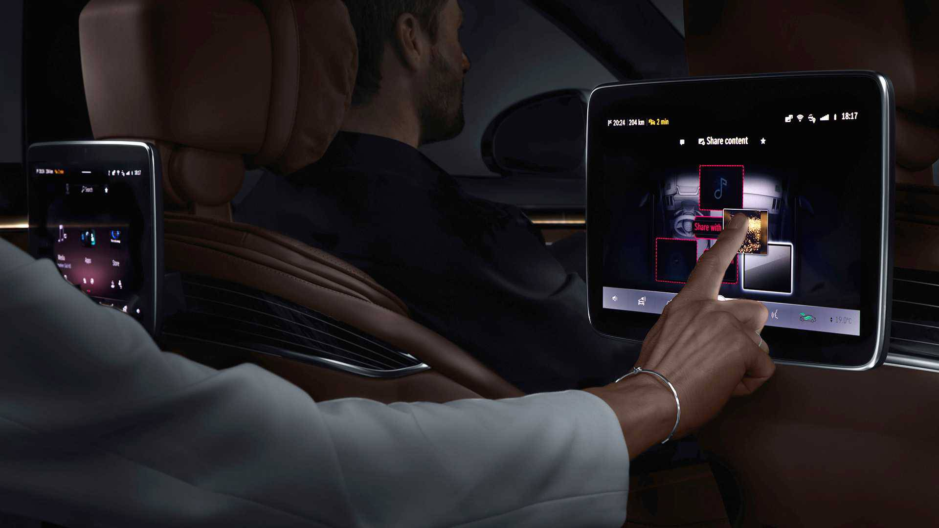Mercedes prikazao fascinantan dio unutrašnjosti nove S-klase