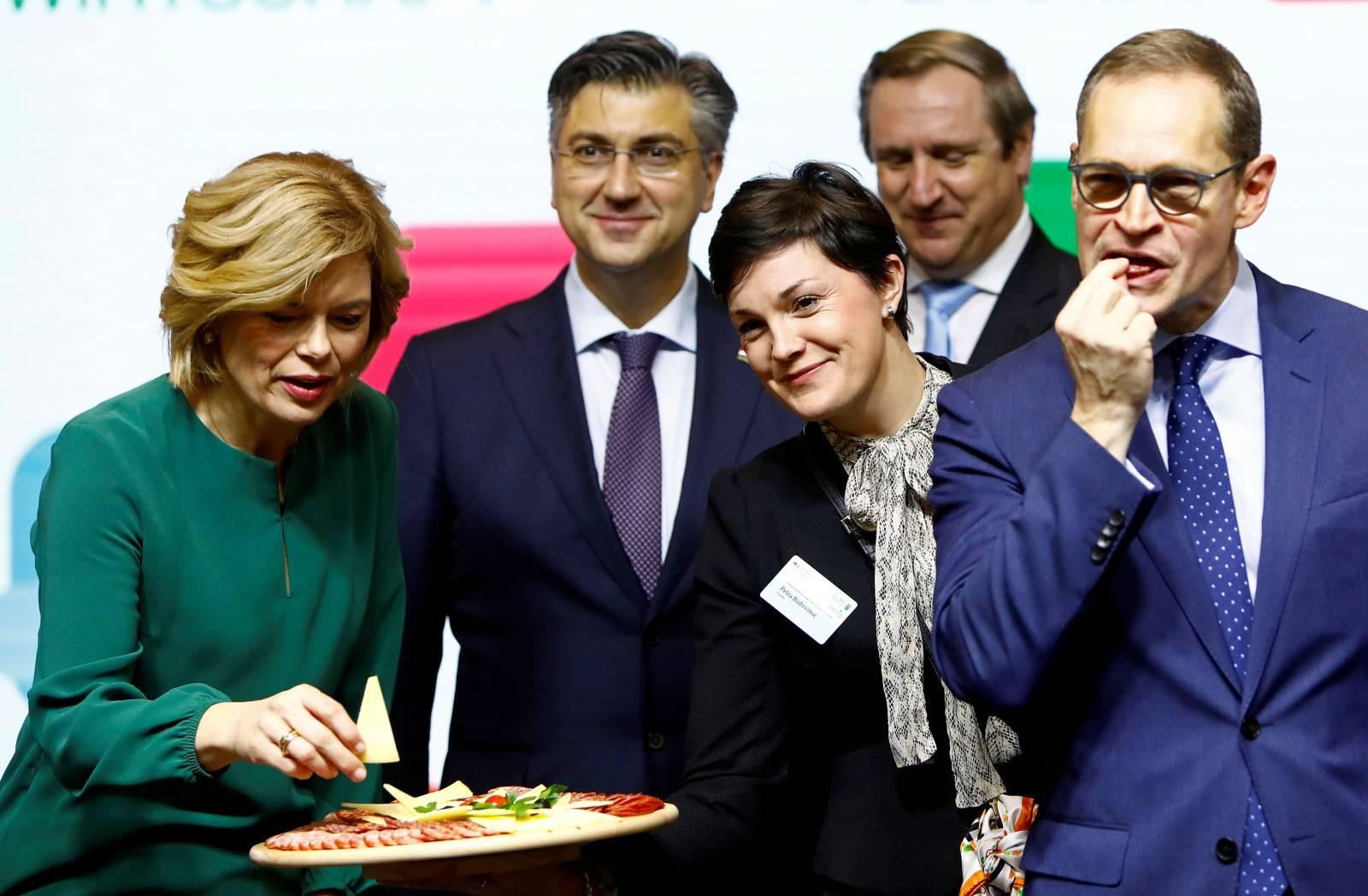 The International Green Week (Internationale Gruene Woche) agriculture and food fair in Berlin