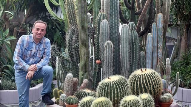 'Kralj kaktusa' ima 50 tisuća primjeraka u svom stakleniku