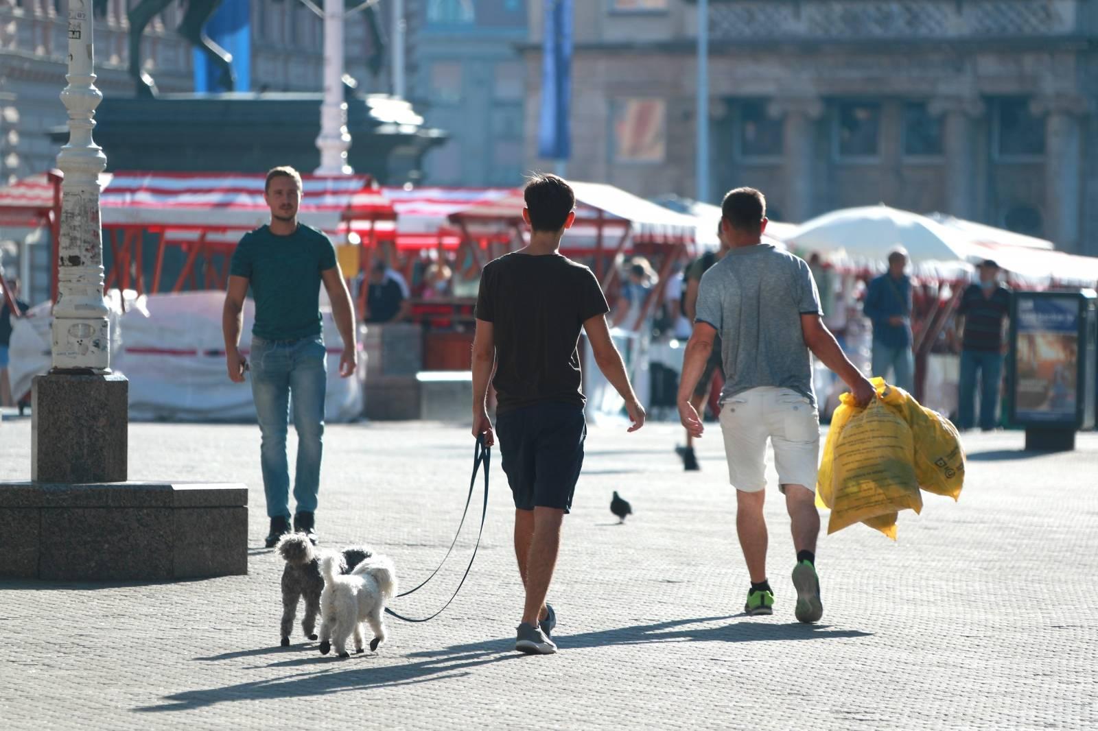 Zagreb: Mirno jutro u centru grada
