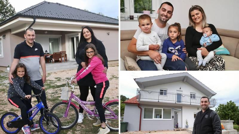 Naš dom na djedovini: Dvije obitelji iz Aržana uz poticaje od 120 tisuća kuna izgradile kuće