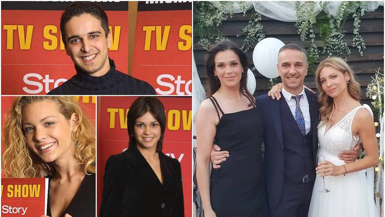 Na svadbi Anje Alavanje okupile se zvijezde showa 'Story Super Nova': 18 godina prijateljstva