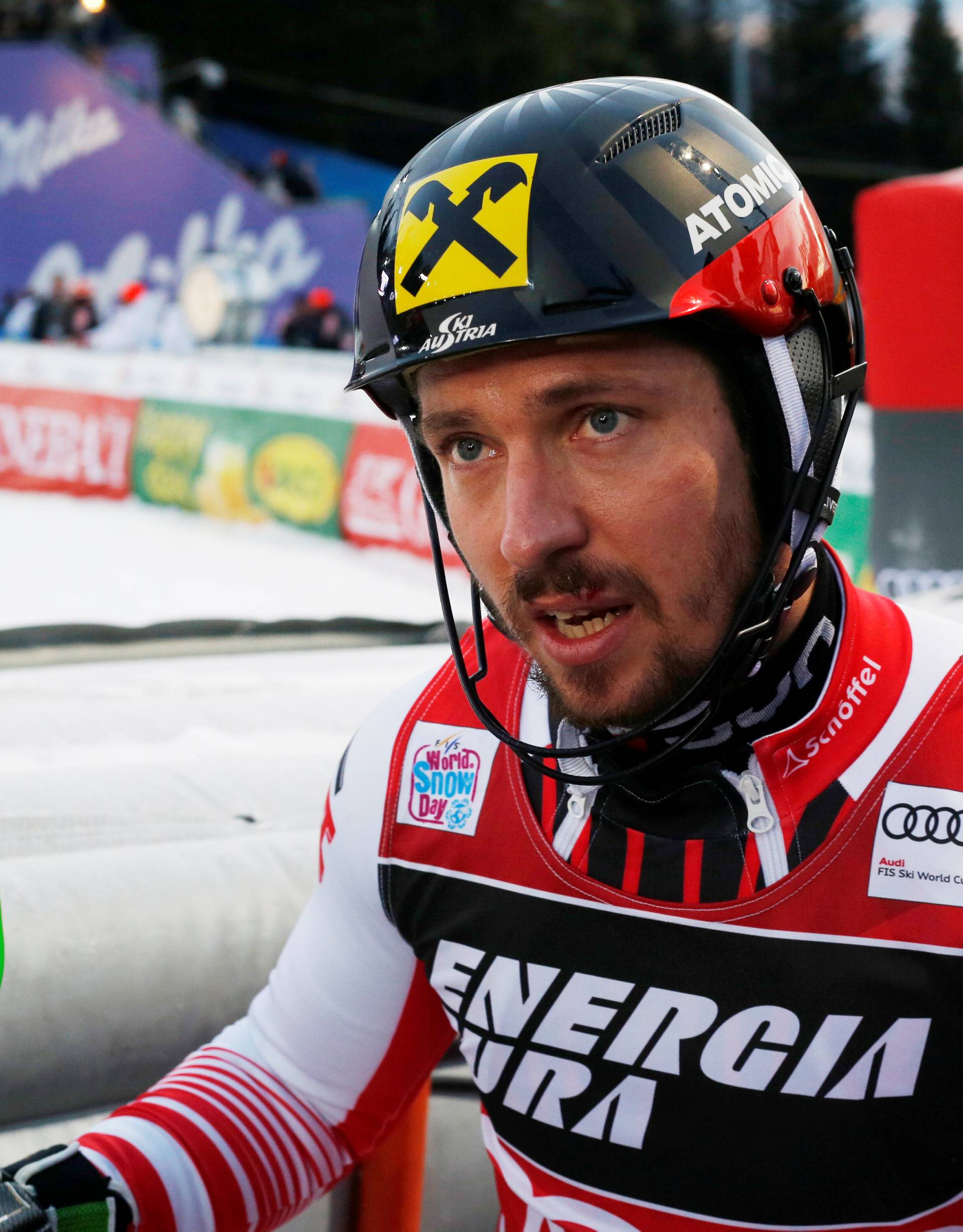 Alpine Skiing - Alpine Skiing World Cup - Men's Slalom
