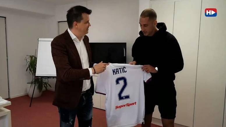 Nikola Katić stigao je u Hajduk!