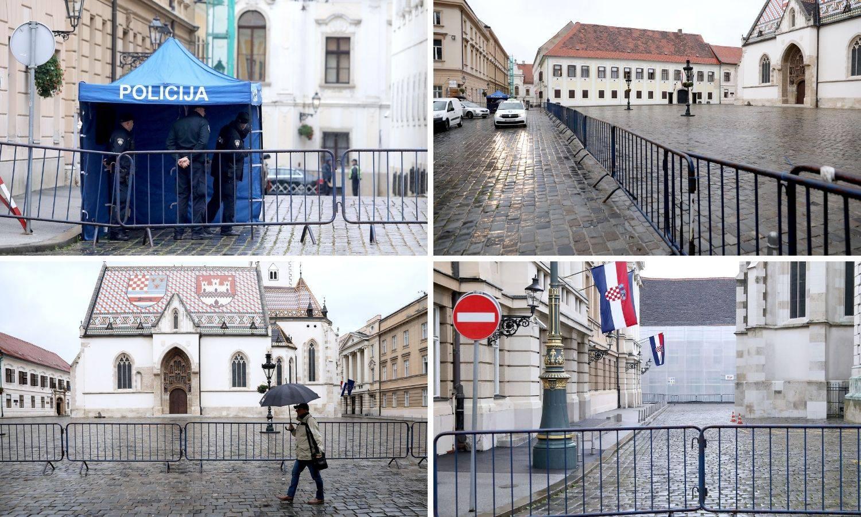 Na Markovu trgu su barikade: Zabrana kretanja do daljnjega