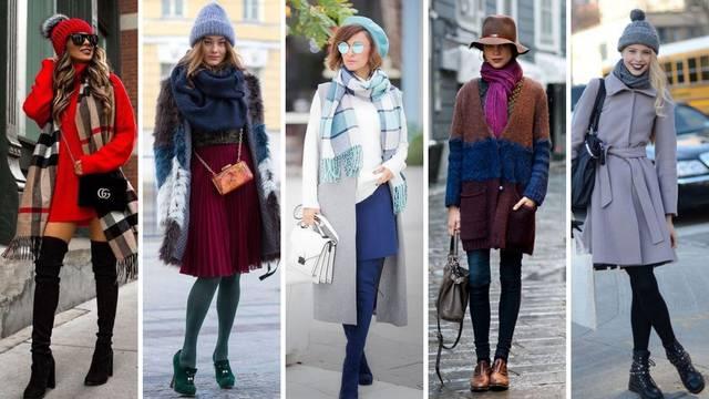 Top 20 ideja kako kombinirati šal s kapom ili šeširom - toplo, lijepo i vrlo ženstveno