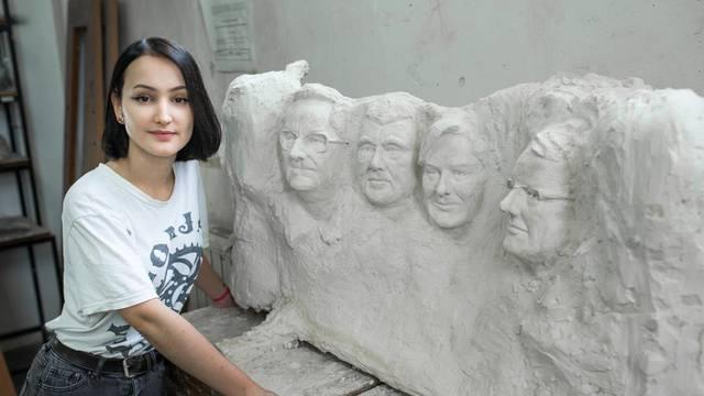 Dora (18) napravila je Mount Rushmore na hrvatski način...
