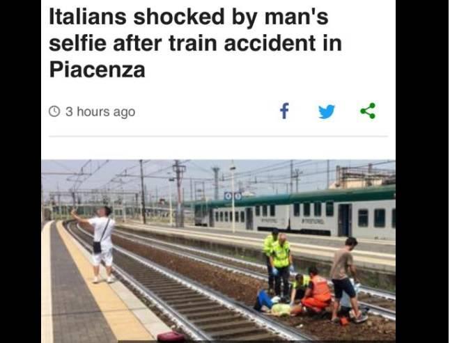 Udario ju je vlak, ležala je na tračnicama, a on je radio selfie