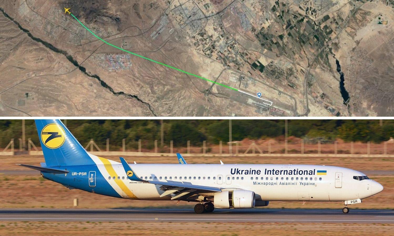 Strava: Kod Teherana se srušio ukrajinski avion sa 180 putnika