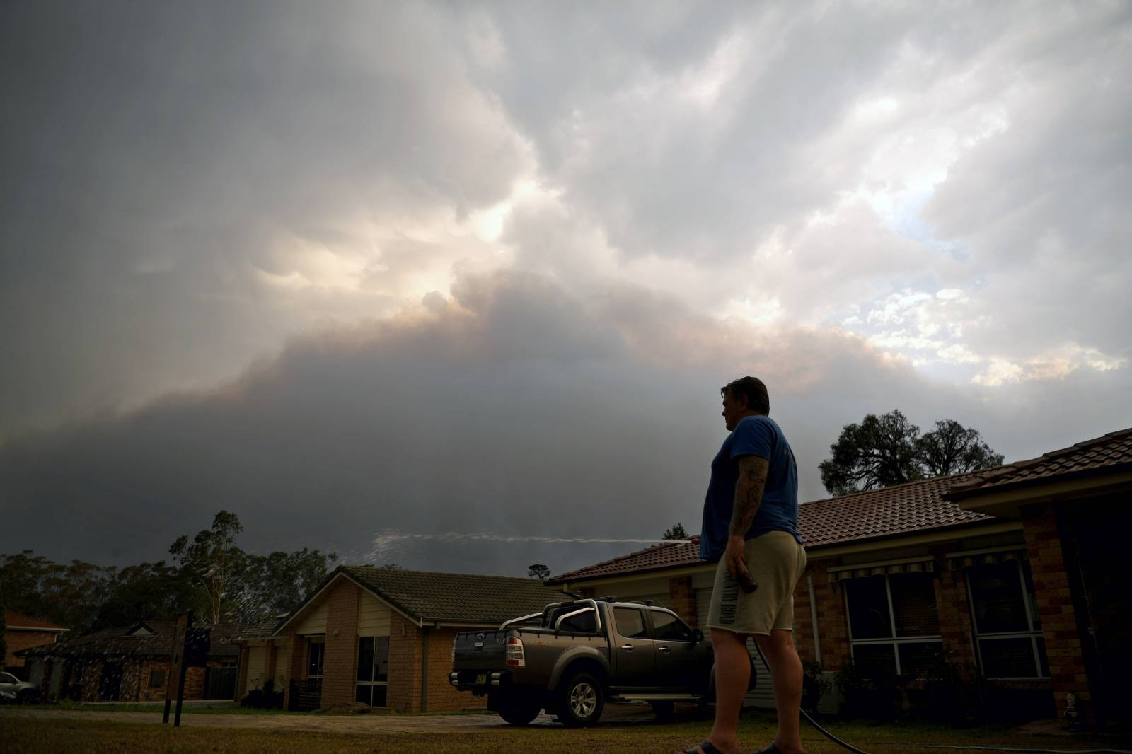 Bushfires in Nowra, New South Wales