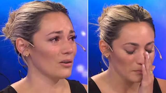 Maradonina bivša plakala pred kamerama: 'Njegova obitelj mi ne da da se oprostim od njega'