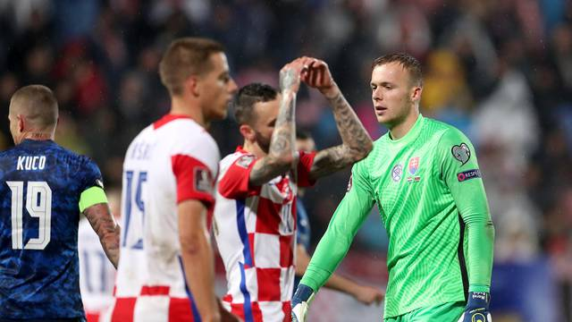 Osijek: Kvalifikacije za Svjetsko prvenstvo, Hrvatska - Slovačka