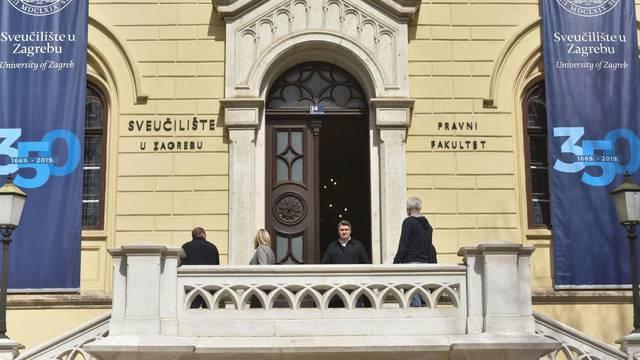 Zagreb: Nakon obilaska zgrade Pravnog fakulteta Zoran Milanović se obratio medijima