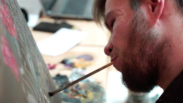 Unatoč invaliditetu, Alen (25) je ostvario san: Slika ustima!