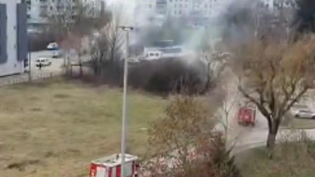 Gorjeli stambeni kontejneri u Remetincu: 'Čuo sam eksploziju, dobro da nitko nije ozlijeđen'