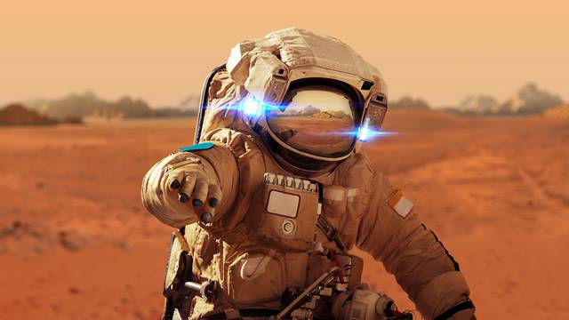 Gledanje NBA utakmica iz prvog reda i šetnja po Marsu