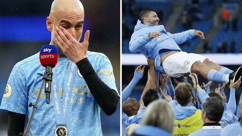Pep Guardiola zaplakao: Agüero mi je toliko pomogao, sad će igrati s najboljim u povijesti
