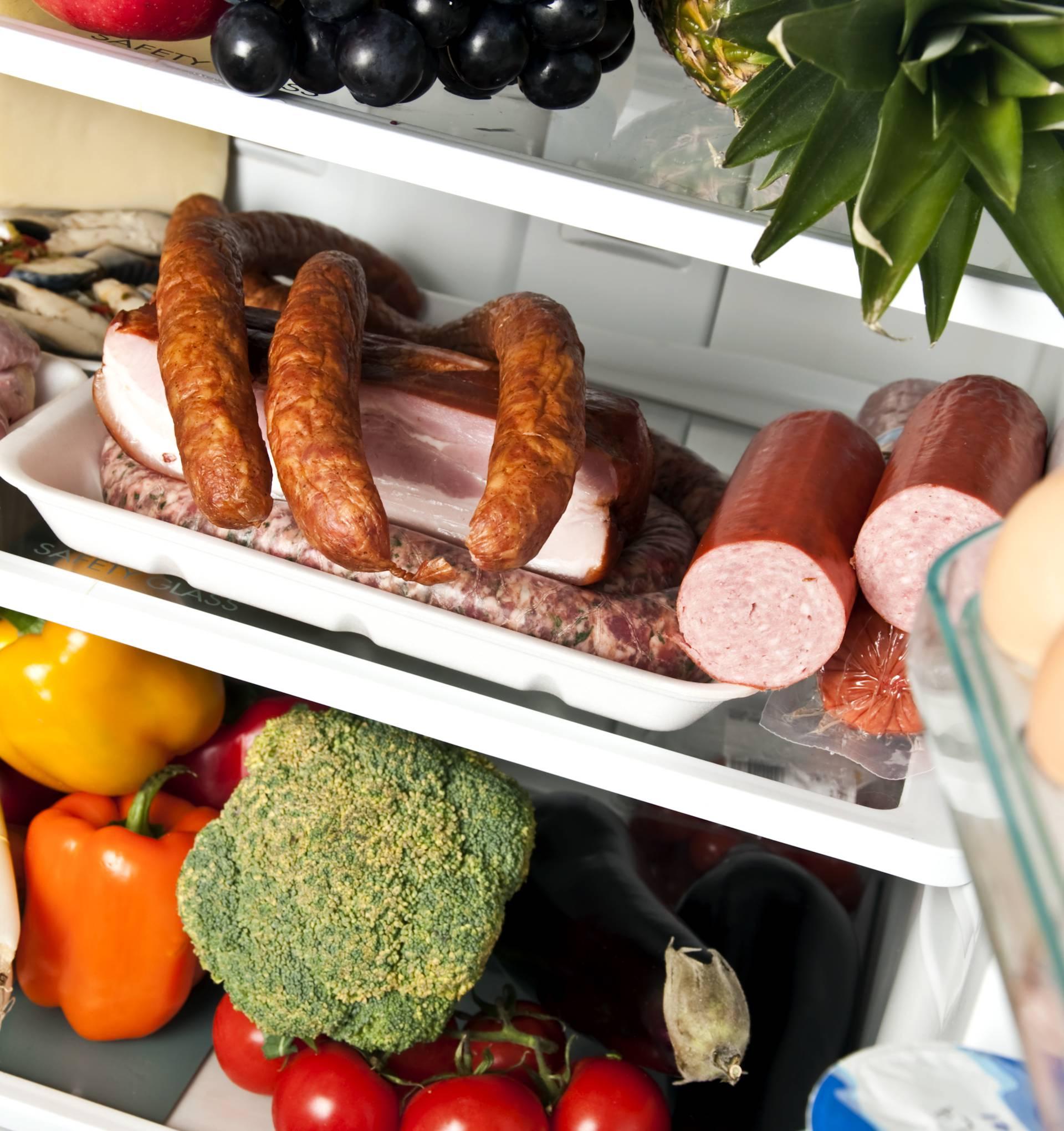Šunka u komadu i jaja u ljusci u hladnjaku traju cijeli tjedan