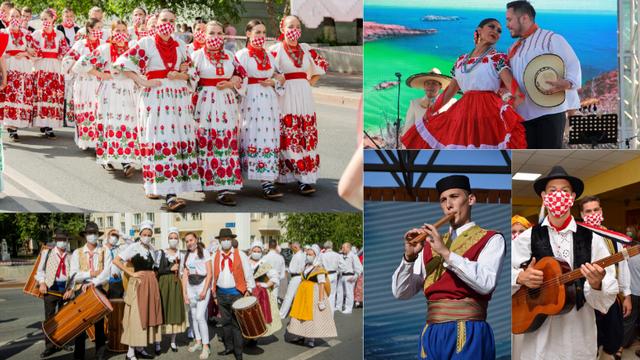 Putovali su jedan cijeli dan: Hrvatski folkloraši oduševili nastupom na Olimpijadi u Rusiji