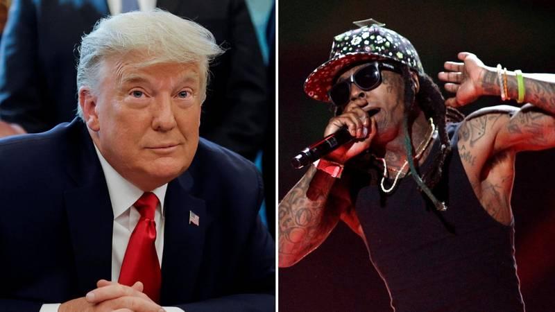 Zahvala za podršku u izborima: Trump će pomilovati Lil Waynea