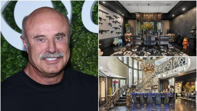 Dr. Phil prodaje vilu za 38 mil. kuna: 'Bojao bih se tu spavati'
