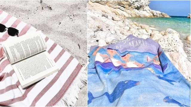 Ručnik na plaži