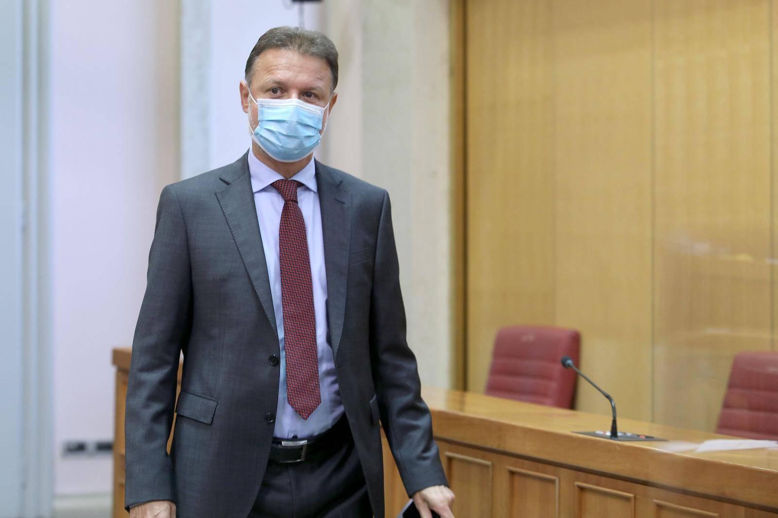 Zagreb: Nakon što je prebolio korona virus Jandroković se vratio u Sabor
