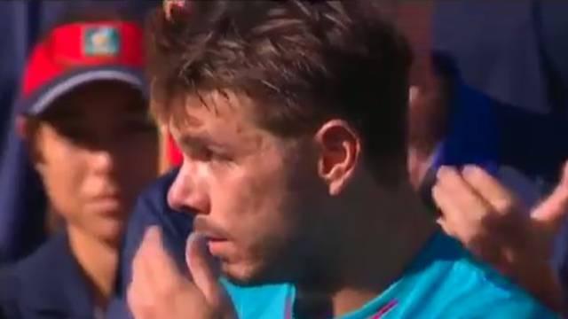 Wawrinka se rasplakao, Federer umire od smijeha: On je šup**!
