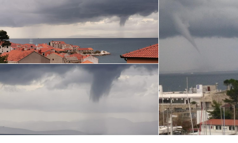 Dalmacijom je harala pijavica: Opasno se približila obali Splita