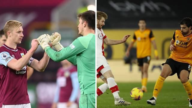 Wolvesi remizirali sa 'svecima', Burnleyu prva pobjeda u sezoni