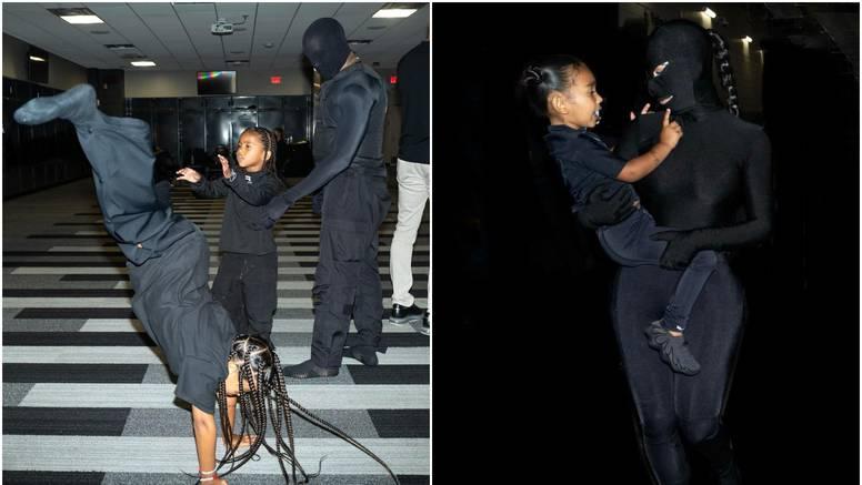 Ostali su prijatelji: Kim i djeca stigli na Kanyeovu zabavu u usklađenim kombinacijama