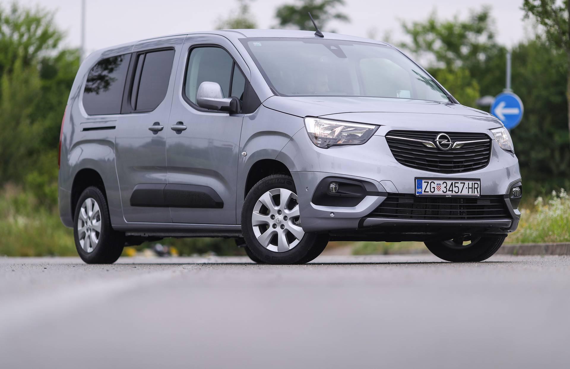 Opel Combo life N1 je obiteljski automobil bez trošarine i PDV-a