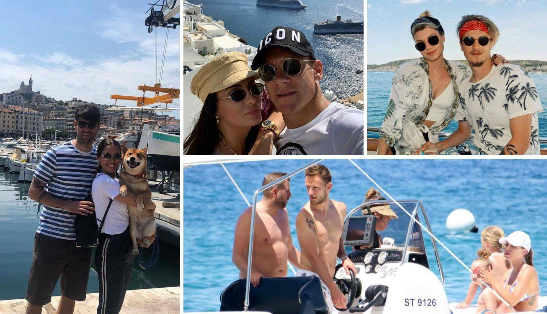 Ćorluke uživale na jahti, a par Vida u luksuzu grčkih otoka...