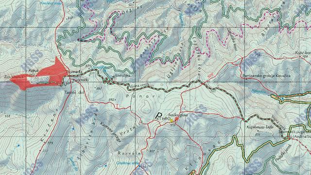 HGSS traga za planinarima, ometa ih jak vjetar i hladnoća