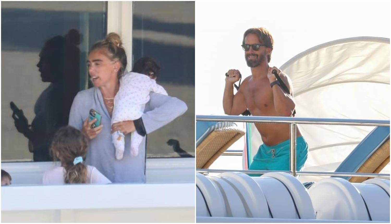 Petra Ecclestone pokazala bebu, a Tamarin muž 'pumpa' mišiće