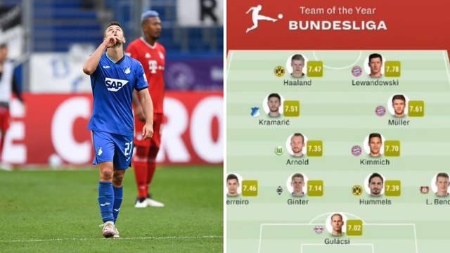 Strašno priznanje: Kramarić u momčadi godine Bundeslige!