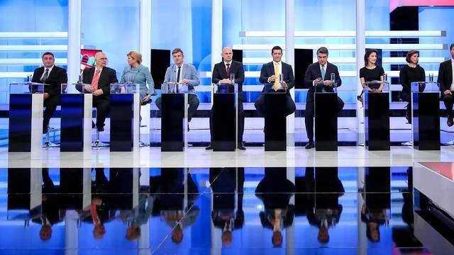 Iscrpljujuće sučeljavanje: Evo što su sve kandidati izgovorili