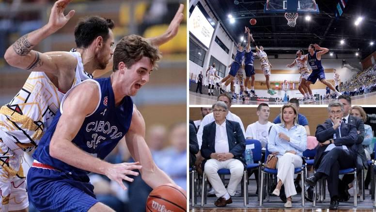 Mladi cibosi bolji od Partizana i Talijana, Plenković sve pratio: I ja dolazim ovdje igrati basket