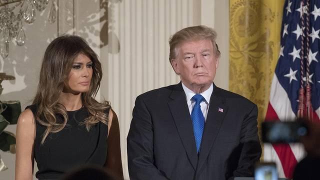 Trumps Host Chanukah Reception