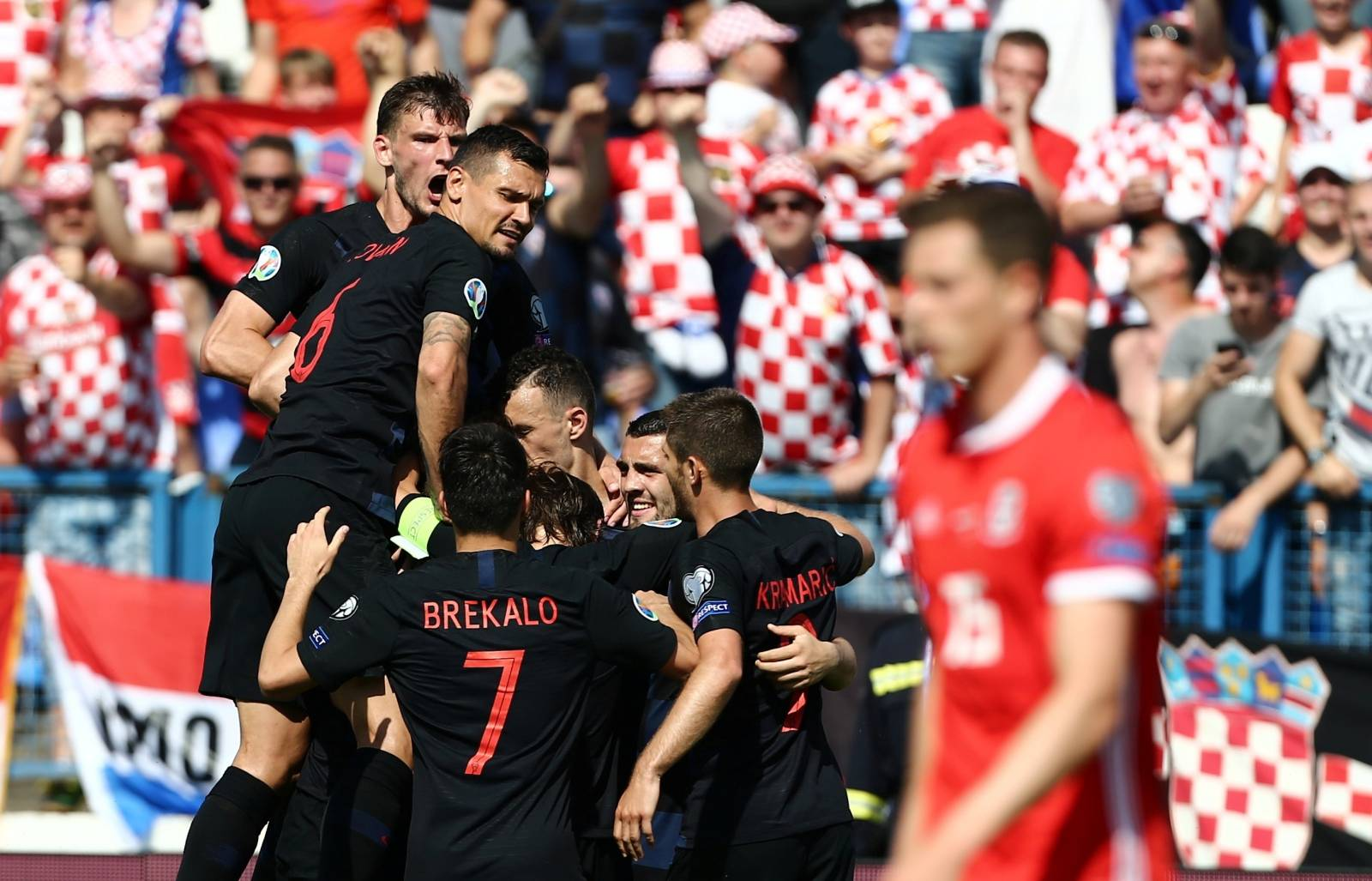 Euro 2020 Qualifier - Group E - Croatia v Wales
