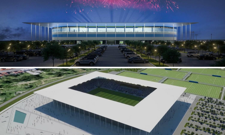 Spektakularan video! Osijek je objavio izgled novog stadiona