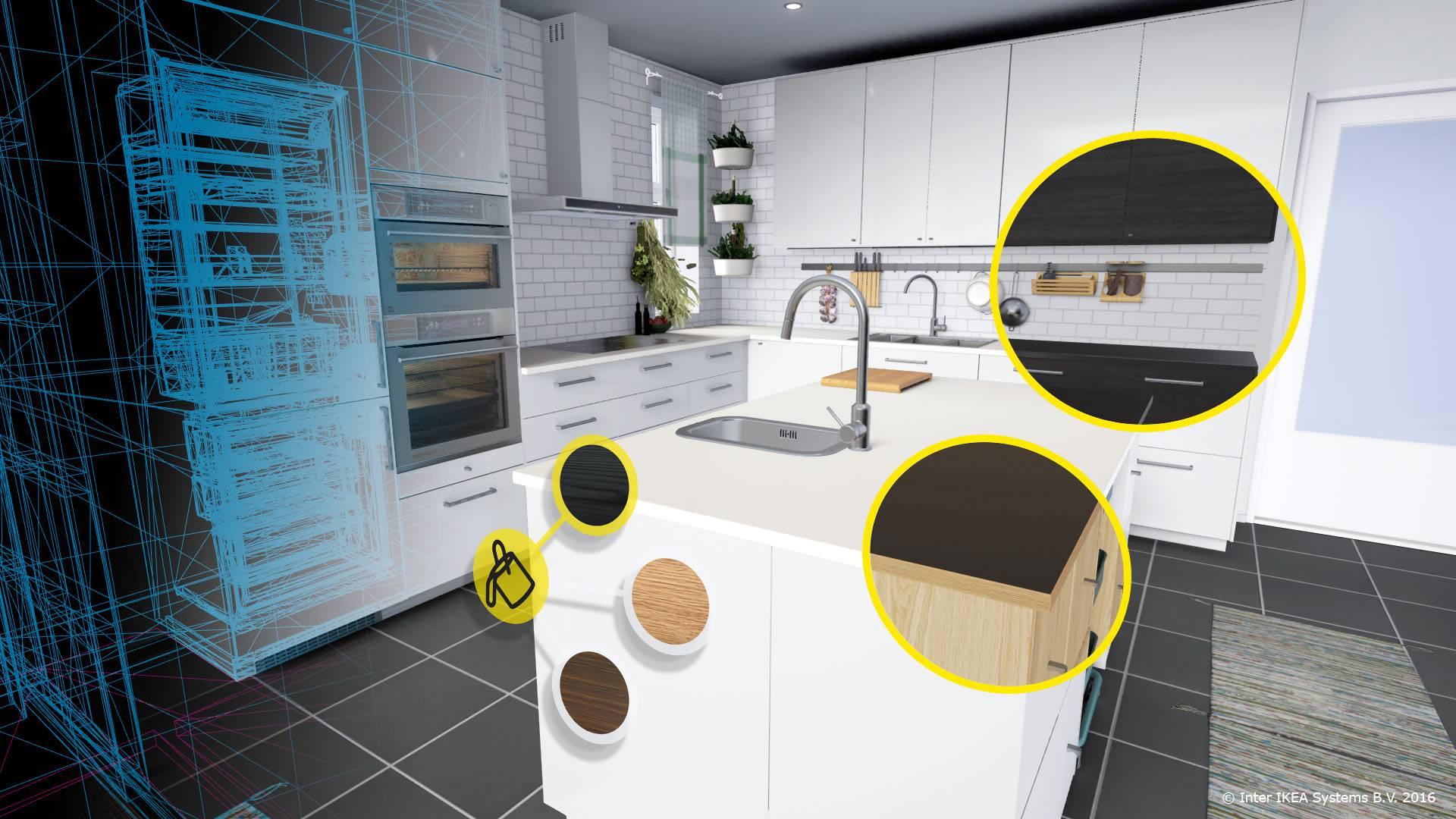 U virtualnoj stvarnosti sami dizajnirajte kuhinju iz snova